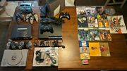 Xbox 360 Ps1 Ps3 Nes N64 Lot Bundle+14games+accessories Tested