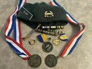Old Rotc Medals Hat Awards Military Memorabilia Military Pins Military Item