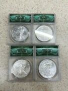 2011-2014 Silver American Eagle Monster Box Collection Ms69