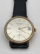 Longiness Flagship 18k Solid Gold Automatic Menand039s Watch Swiss