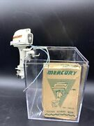 Number 45 With Box Fleet-line Mercury Toy Outboard Motor Rebuilt And Tested