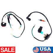Kill Switch Wiring Loom Harness Ignition Coil Cdi Spark Plug For Stomp Demon X