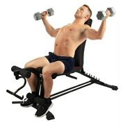 Multi-use Dumbbell Bench Fitness Chair Home Supine Board With Drawstring