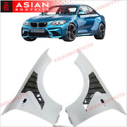 Carbon Fiber Vents Front Fenders For Bmw M2 F87 Competition 2016+