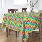 Tablecloth Celebrations Traditions Holiday Decorations Maximalist Cotton Sateen