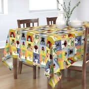 Tablecloth Bug Funny Science Medical Scientist Hospital Face Mask Cotton Sateen
