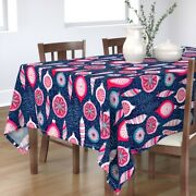 Tablecloth Christmas Decoration Celebrations Traditions Holiday Cotton Sateen