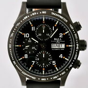 Ball Storm Chaser Dlc Cm2192c-l6j-bk Used Watch Automatic Menand039s Excellent Cond.