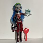 Mattel Monster High Ghoulia Yelps First Wave Doll Accessories Pet Brush Purse