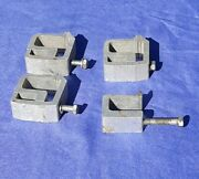 3 Large Aluminum Truck Canopy Topper Shell Mounting Clamps Heavy Duty