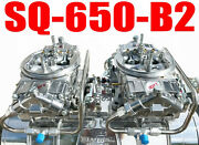 Quick Fuel Sq-650-b2 650 Cfm Blower Supercharger Clear Carbs Lines In Stock Now