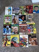 Lot Of 17 Sports Illustrated Magazines Maravich Morral Indy 500 60's 70's 90's