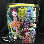 Monster High Draculaura And Twyla School Lunch Peanut Butter And Jelly 2 Pack
