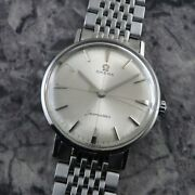 Omega Seamaster Non-date Original Dial Manual Winding Vintage Watch 1961and039s