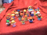 Lot Of 23 Little People Fisher Price People Princess Policeman. Doctor And More