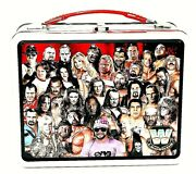 Wwe Legends Metal Lunchbox Undertaker Flair Andre Stone Cold Shawn Wwf Nwa