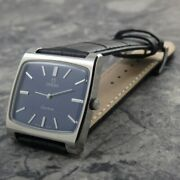 Omega Geneva Square Case Manual Winding Vintage Watch 1973and039s Overhauled