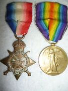 Ww1 Star And Bi-lingual Victory Medal Pair To South African Samr / S.a.s.c., Moody