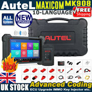 Autel Scanner Maxicom Mk908 Obd2 Scan Tool Full System All Special Functions