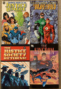 Dc Comics Justice League Society Formerly Known As The Justice League Tpb Lot