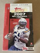 2007 Topps Football Nfl 36 Packs 324 Cards Factory Hobby Box Johnson Peterson Rc