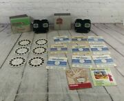 2 Vintage Sawyer's View-master Stereoscopes With Original Boxes