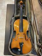 Viola Made In Germany Roderich Paesold No.704a Size15.5 1991 Make Fully Serviced