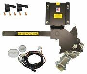 1961-1966 Ford Truck Front Door Power Window Kit With Ftfg Switches For Door
