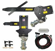 1959-1960 Impala 2dr H-top Front And Rear Power Window Kit W Ftfg Switches Console