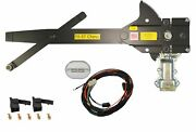 1955-1957 Chevy Nomad Front Door Power Window Kit With Ftfg Switches For Console
