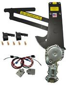 1936-1946 Gm Chevy Truck Front Doors Power Window Kit With Nu-cranks Switches