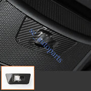 For Ford F-150 2015-2020 Carbon Fiber Style Rear Widow Switch Panel Cover Trim S