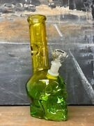 10 Premium Glass Bong Water Pipe W Recycler Filter Hookah And Bubbler Us Made