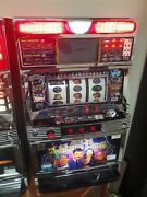 The Addams Family Japanese Slot Machine W/ Led Screen And Tokens Pachislo Rare