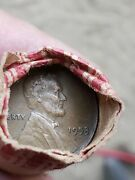 Lincoln Penny Roll Circulated 1953 - Lot Of 50 Cents