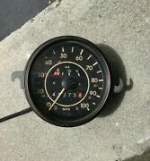 1970and039s Vw Vdo 100 Mph Speedometer Gas Gauge With Speedo Cable