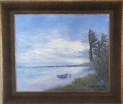 Signed Florida Highwaymen Oil On Masonite Painting By Ra Mclendon 1932
