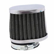 4pcs 50mm Air Filters Inlet Pod Motorcycle Clean Cone Cleaner Cold Universal