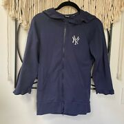 Touch By Altssa Mikano Sweater Hoodie Ny Yankees Womens Size Medium