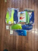 Jp1062 Lot Of Buckails For Bucktail Jigs And A Feather Sampler