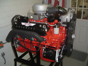 1957 Ford 312 Y Block Phase 1 Supercharged Nascar Engine Restored Vr-57 89r Xe
