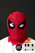 Marvel 1/1 Spider Man Bluetooth Mask Movable Eyes Cosplay Mask W/ Sound Display