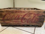 Very Very Old Coca Cola Crate