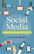 Social Media Communication, Sharing And Visibility, Paperback By Meikle, Gr...