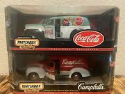 Matchbox Collectibles 1/18 Scale Campbell And Coca-cola Ford Sedan Delivery