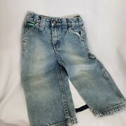 John Deere Denim Jeans Size 2t Toddlers No Holes Or Stains Stone Wash Color