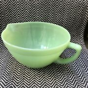 Fire-king_batter Pitcher_jadeite Green_oven Ware_made In Usa
