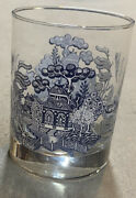 3 Sets Of 4 Johnson Brothers Willow Blue 14 Oz Old Fashion Glasses Tumblers