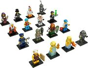 Lego Collection Minifigures Series 9 71000 Andndash Completed Set Of 16 Brand New