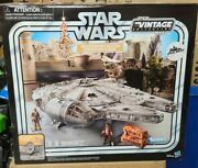 Star Wars The Vintage Collection Galaxyandrsquos Edge Millennium Falcon Smugglers Read